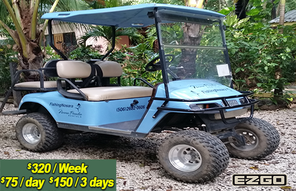 EZGO Safari Cart
